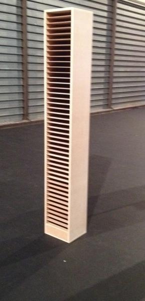 Colonne de rangement pour filtres de projecteurs / format PAR, PC, decoupe.